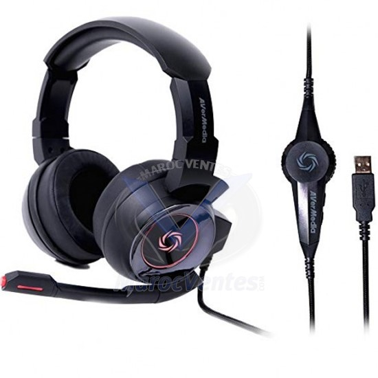 Casque SonicWave Son Audio Surround 7.1 Virtuel GH337